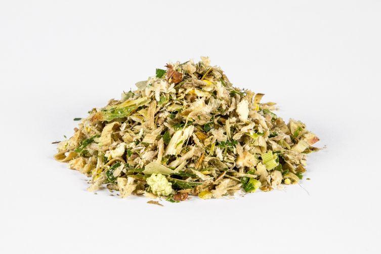 Zuckerrüben-Pressschnitzel-Silage (50%), Vollmaispflanzen-Silage (50%), Siloballen à ca. 1000 kg
